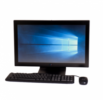 Integrated Thin Client | ARGUS (Desktop Base, Front Profile)